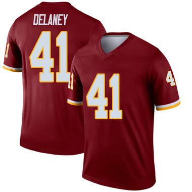 Men's Nike Washington Redskins Dee Delaney Burgundy Jersey - Legend