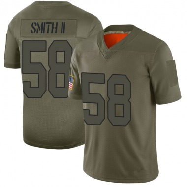 Youth Nike Washington Redskins Marcus Smith II 2019 Salute to Service Jersey - Camo Limited