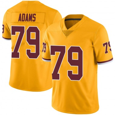 Youth Nike Washington Redskins Paul Adams Color Rush Jersey - Gold Limited